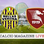Hellas Verona Salernitana cronaca diretta live risultato in tempo reale