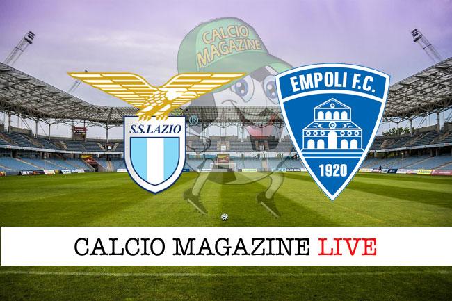 Lazio Empoli cronaca diretta live risultato in tempo reale