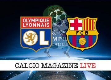 Lione Barcellona cronaca diretta live risultato in tempo reale
