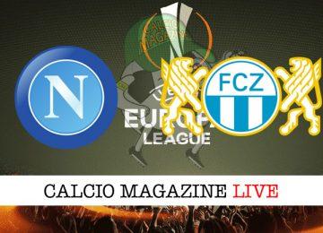 Napoli Zurigo cronaca diretta live risultato in tempo reale