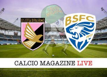 Palermo Brescia cronaca diretta live risultato in tempo reale