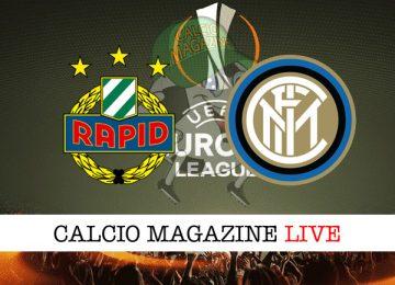 Rapid Vienna Inter cronaca diretta live risultato in tempo reale