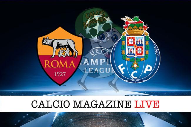 Roma Porto cronaca diretta live risultato in tempo reale