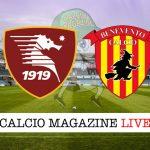 Salernitana Benevento cronaca diretta live risultato in tempo reale