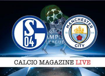 Shalke04 Manchester City cronaca diretta live risultato in tempo reale