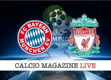 Bayern Monaco Liverpool cronaca diretta live risultato in tempo reale