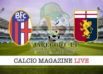 Viareggio Cup Bologna Genoa cronaca diretta live risultato in tempo reale