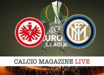 Eintracht Francoforte Inter cronaca diretta live risultato in tempo reale