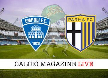 Empoli Parma cronaca diretta live risultato in tempo reale