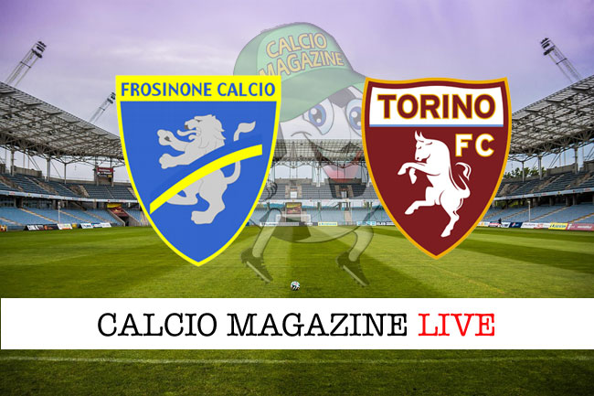 Frosinone Torino cronaca diretta live risultato in tempo reale