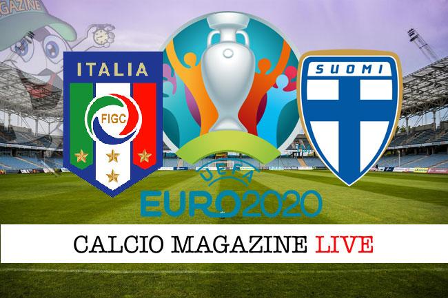 Italia - Finlandia, le formazioni ufficiali