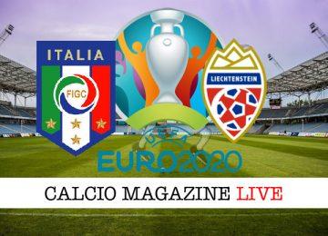 Italia Liechtenstein cronaca diretta live risultato in tempo reale