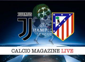 Juventus Atletico Madrid cronaca diretta live risultato in tempo reale