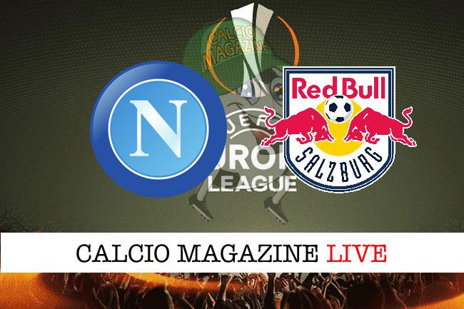 Napoli Salisburgo cronaca diretta live risultato in tempo reale