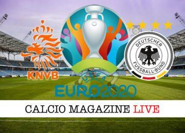 Olanda Germania cronaca diretta live risultato in tempo reale