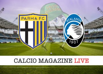 Parma Atalanta cronaca diretta live risultato in tempo reale