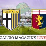 Parma Genoa cronaca diretta live risultato in tempo reale