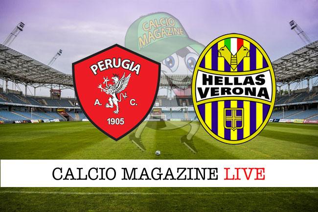 Perugia Verona cronaca diretta live risultato in tempo reale
