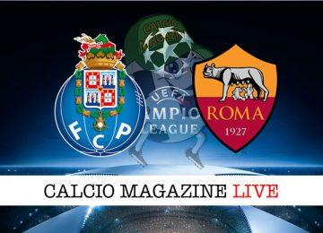 Porto Roma cronaca diretta live risultato in tempo reale