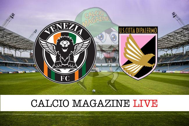 Venezia Palermo cronaca diretta live risultato in tempo reale