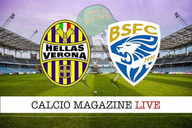 Verona Brescia cronaca diretta live risultato in tempo reale