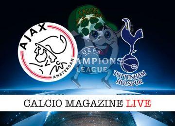 Ajax Tottenham cronaca diretta live risultato in tempo reale