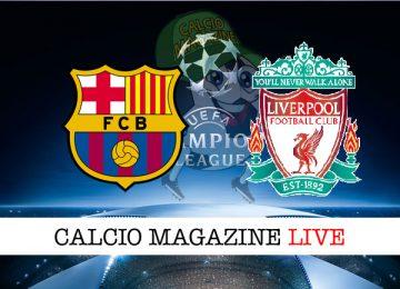 Barcellona Liverpool cronaca diretta live risultato in tempo reale