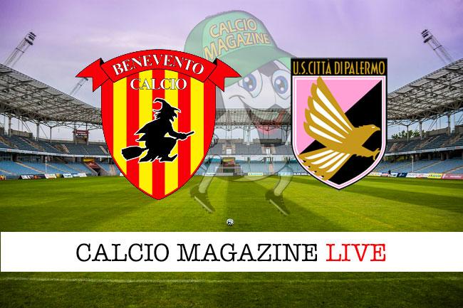Benevento Palermo cronaca diretta live risultato in tempo reale