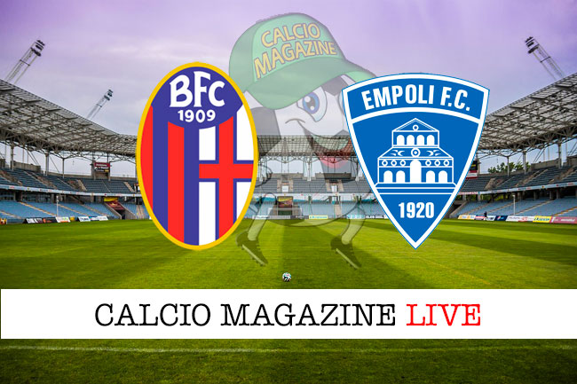 Bologna Empoli cronaca diretta live risultato in tempo reale