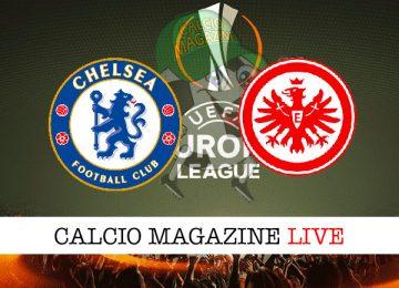 Chelsea Eintracht Francoforte cronaca diretta live risultato in tempo reale