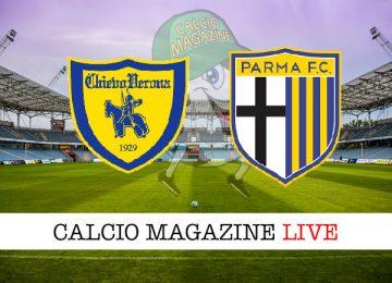 Chievo Parma cronaca diretta live risultato in tempo reale