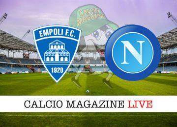 Empoli Napoli cronaca diretta live risultato in tempo reale