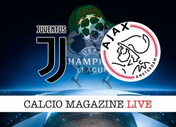 Juventus Ajax cronaca diretta live risultato in tempo reale