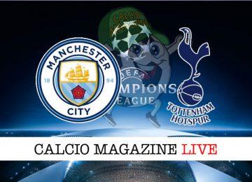 Manchester City Tottenham cronaca diretta live risultato in tempo reale
