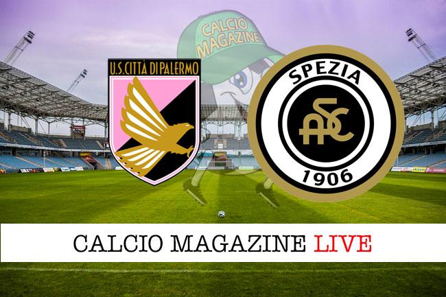 Palermo Spezia cronaca diretta live risultato in tempo reale