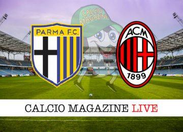 Parma Milan cronaca diretta live risultato in tempo reale