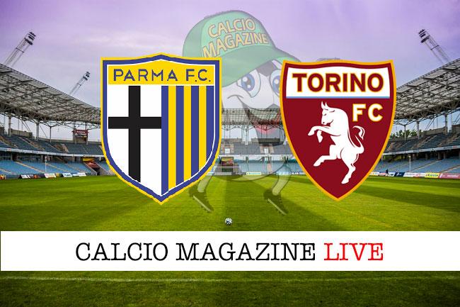 Parma Torino cronaca diretta live risultato in tempo reale