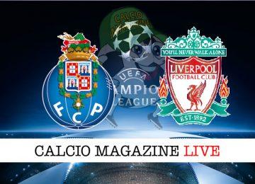 Porto Liverpool cronaca diretta live risultato in tempo reale