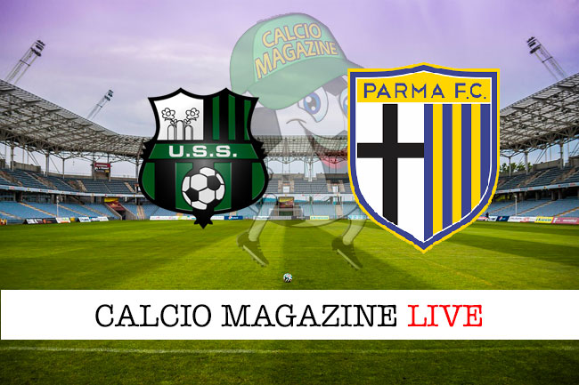 Sassuolo - Parma le formazioni ufficiali del match