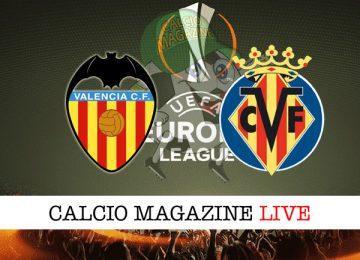 Valencia Villareal cronaca diretta live risultato tempo reale