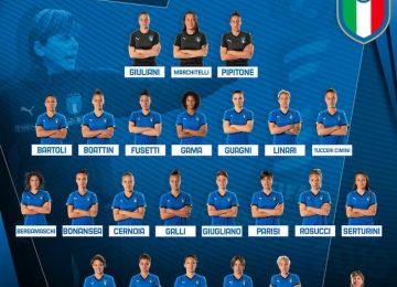 azzurre convocate mondiali 2019