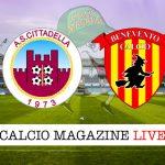 Cittadella Benevento cronaca diretta live risultato in tempo reale