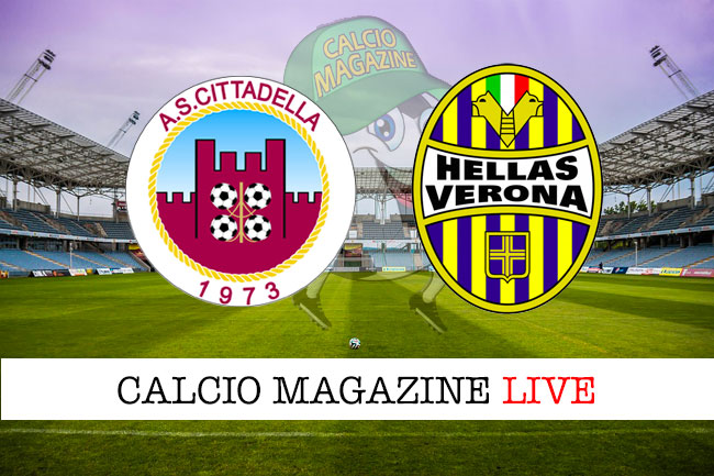 Cittadella Verona cronaca diretta live risultato in tempo reale
