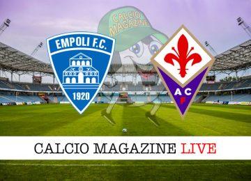 Empoli Fiorentina cronaca diretta live risultato in tempo reale