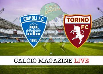 Empoli Torino cronaca diretta live risultato in tempo reale