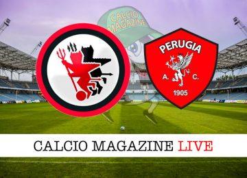 Foggia Perugia cronaca diretta live risultato in tempo reale