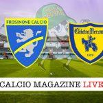 Frosinone Chievo cronaca diretta live risultato in tempo reale