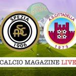 Spezia Cittadella cronaca diretta live risultato in tempo reale