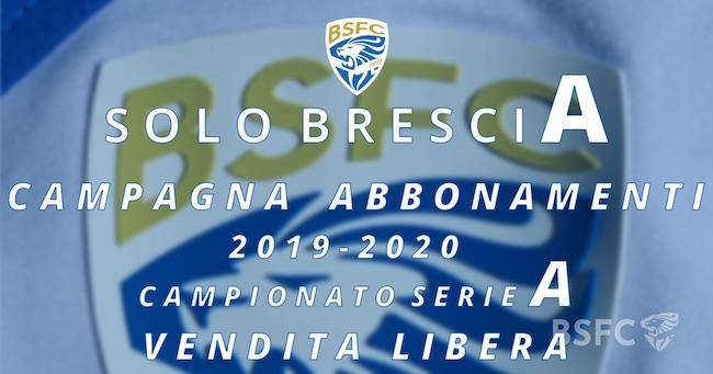 abbonamenti Brescia 2019-2020