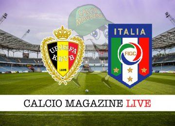 Belgio Italia cronaca diretta live risultato in tempo reale